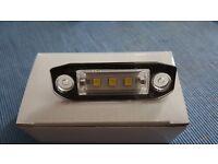 volvo licence plate LED lights