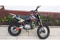 125 cc pitbike off road motorbike