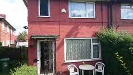 2 bed rooms semi detached house for rent
