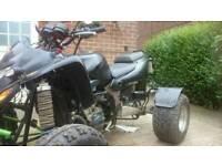 Road legal quad with zx6r ninja engine
