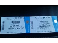 2 Take That tickets for Norwich on 16 June 2017