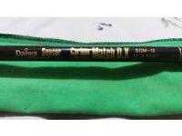 Daiwa sensor match D.X fly fishing rod