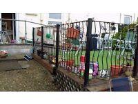 Metal garden posts