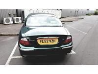 Jaguar s type sport 12 month mot 12 month tax £950