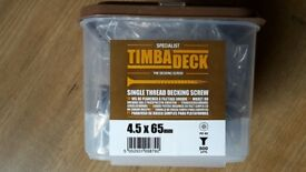 Single thread decking screw - 4.5x65mm