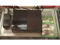 Mint condition Xbox ONE 500GB w/ Cex warranty, Fife 17, Gta 5 and COD infinite warfare