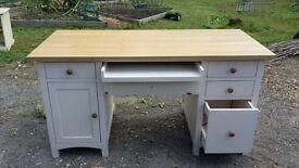 Cotswold Company Wiltshire Painted Double Pedestal Desk