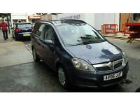 Vauxhall zafira 1.6 Excellent car 7 Seater Mot till 2017