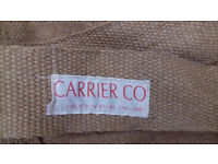 Set of canvas bags for garden use. Made by Carrier & Co. Norfolk