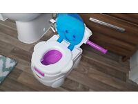 """Two Fisher Price """"My Potty Friend"""" Singing Potties - two months old, perfect condition"""