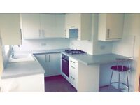 2 double rooms available in a newly renovated 3-bedroom, modern, professional house share