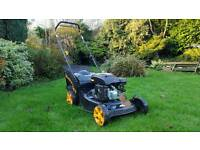 "McCulloch 18"" Self Propelled Petrol Mower / Lawnmower - 2016"