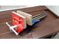 """Large Heavy Duty, Quick Release, """"RECORD"""" Joiners Vice"""