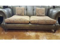 Chesterfield 3 Seater and Armchair. Great Condition