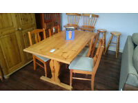 Refectory Table & 4 Chairs