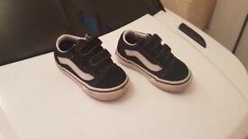 Vans -Infant size 4