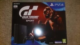 Sony Playstation 4 console with Grand Turismo Bundle - New