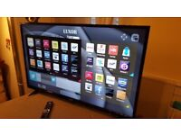 BOXED LUXOR 43-inch SUPER Smart 4K UHD LED TV,built in Wifi,Freeview & Freesat HD,fully working