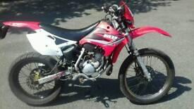 Moto Hispania 50cc supermoto enduro road legal