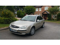 Ford Mondeo 2.0 TDCi Ghia, 6 speed, Service history, MOT 07 April 2017
