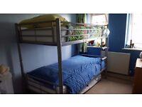 "Metal bunkbeds. Ikea ""Svarta"""