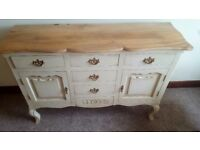 Beautiful French style Sideboard with 6 drawers and 2 cupboards