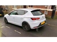 MK3 SEAT LEON CUPRA IN WHITE BREAKING FOR PARTS