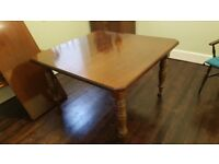 Antique extending dining table for 4, 6 or 8