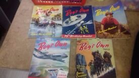 Boy's Own Paper Collection Of 5 At Sue Ryder Dorchester (Lot 2)