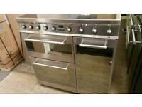 90cm smeg induction range cooker.