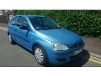 2004 Vauxhall Corsa 1.2 Life 12 Months MOT till July 2018