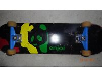 Enjoi complete skateboard and brand new Plan B deck with.......
