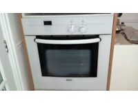 ELECTRIC KITCHEN APPLIANCES IN WHITE WITH UNITS IN WHITE