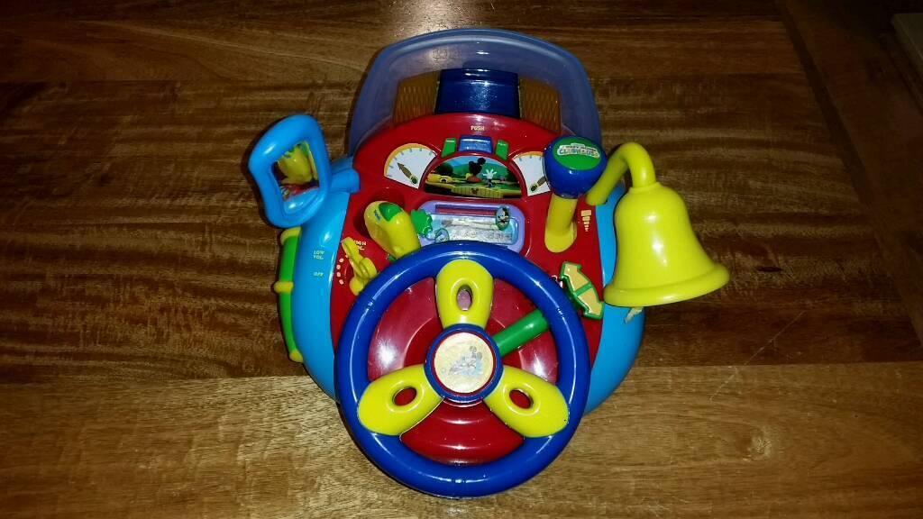 Mickey Mouse stirring wheel