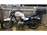 Sinnis JS 125-6C - 125cc Motorbike with 8 months MOT - Spares or Repair