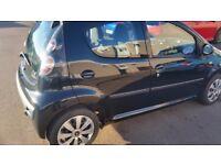 Citroen c1 black 5 door £20 road tax 60+mpg just serviced and mot,d £1250