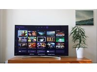 "Samsung 55"" curved smart tv"