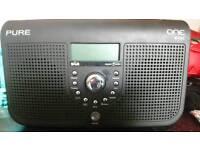 Pure DAB stereo digital radio