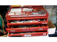 FACOM TOOLBOX complete with hundreds of tools