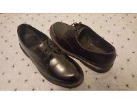 NEW Dr. Martens Kensington Brook 2 Eye Shoe Black, Size 6