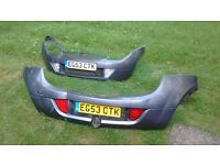 Ford Ka street sport bumpers front an back in grey