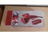STEAM CURLER BRAND NEW BOXED MAKE IDEAL PRESENT PINK COLOUR