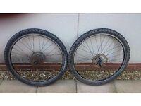Mavic 26inch mountain bike wheels