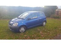 Toyota Yaris 1.0 Litre 02 Plate Mot April 2017 Good Condition Throughout...