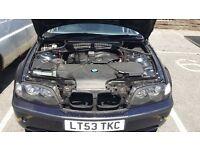 BMW 320I 12 months MOT
