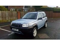 2003 landrover freelander 1.8 serengeti se 4x4 in immaculate condition
