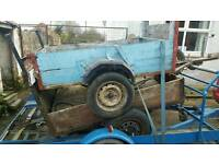 Car trailer x 2 (garden, quad, project)