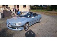 PEUGEOT 306 CABRIOLET 1.8 PETROL £1250 ONO