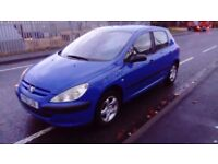 2001 51 PEUGEOT 307 1.4 FULL MOT ONLY 84000 MILES IMMACULATE CONDITION 1ST TO SEE WILL BUY £495