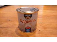 Johnstone's Radiator Paint (Gloss White) 250ml tin